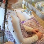 Braided Headband into Rose _ Long Hair _ Cute Girls Hairstyles_HD720 12