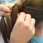 Braided-Over Ponytail _ Cute Girls Hairstyles_HD720 07