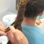 Braided-Over Ponytail _ Cute Girls Hairstyles_HD720 14