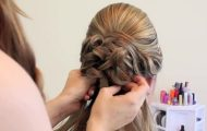 Bridal Updo on Shoulder Length Hair_HD720 14