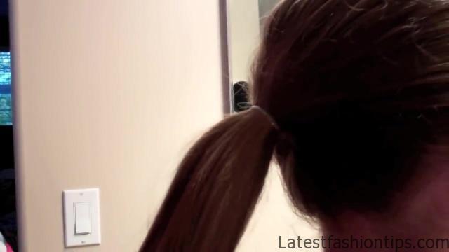 Bubble Ponytail _ Long Hair _ Cute Girls Hairstyles_HD720 04