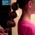 Bubble Ponytail _ Long Hair _ Cute Girls Hairstyles_HD720 12