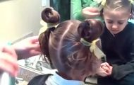 Bunny Ear Pigtails _ Cute Girls Hairstyles_360P 12