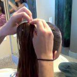 Cage Braid Ponytail _ Popular Braids _ Cute Girls Hairstyles_HD720 05
