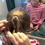 Cage Braid Ponytail _ Popular Braids _ Cute Girls Hairstyles_HD720 08