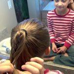 Cage Braid Ponytail _ Popular Braids _ Cute Girls Hairstyles_HD720 09