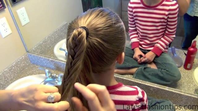 Cage Braid Ponytail _ Popular Braids _ Cute Girls Hairstyles_HD720 10