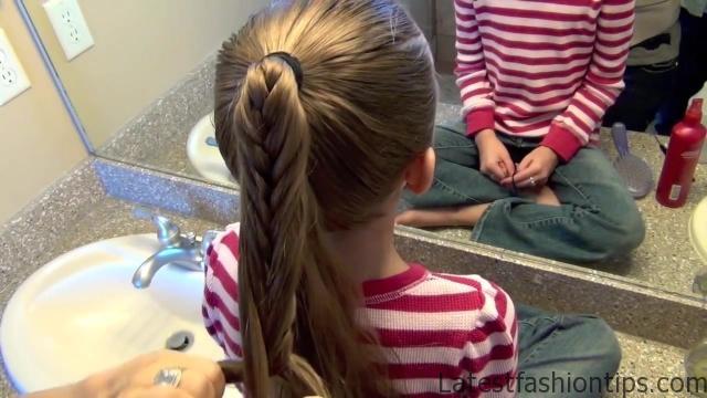 Cage Braid Ponytail _ Popular Braids _ Cute Girls Hairstyles_HD720 11