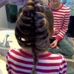 Cage Braid Ponytail _ Popular Braids _ Cute Girls Hairstyles_HD720 14