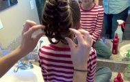 Cage Braid Ponytail _ Popular Braids _ Cute Girls Hairstyles_HD720 17