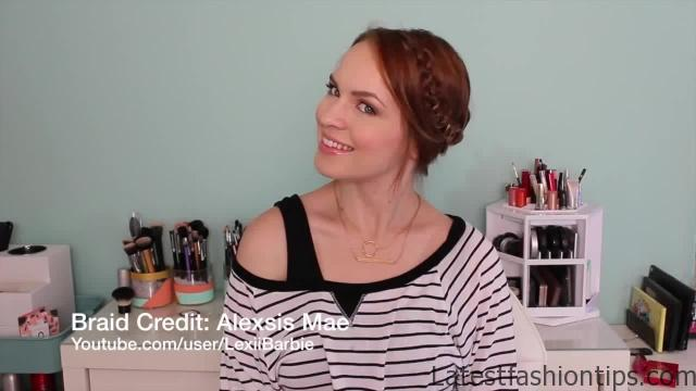 Celtic Braid and 3 Ways to Style It!_HD720 02