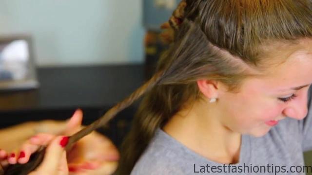 Cocoon Curls _ Easy No-Heat Curls _ Cute Girls Hairstyles_HD720 06