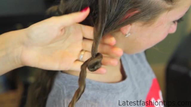 Cocoon Curls _ Easy No-Heat Curls _ Cute Girls Hairstyles_HD720 09