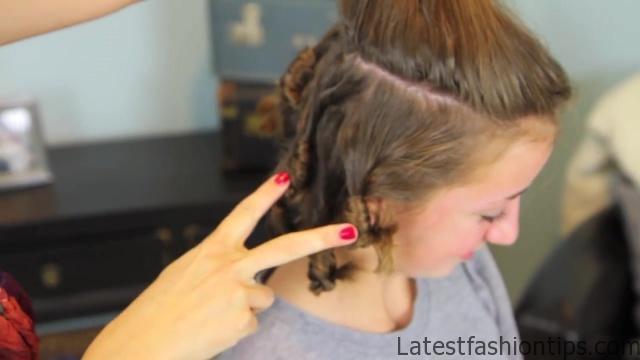 Cocoon Curls _ Easy No-Heat Curls _ Cute Girls Hairstyles_HD720 16