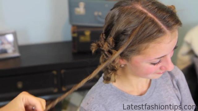 Cocoon Curls _ Easy No-Heat Curls _ Cute Girls Hairstyles_HD720 21