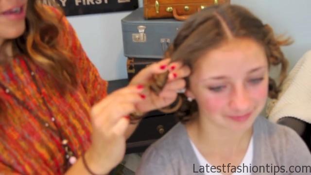 Cocoon Curls _ Easy No-Heat Curls _ Cute Girls Hairstyles_HD720 25