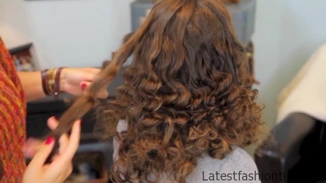 Cocoon Curls _ Easy No-Heat Curls _ Cute Girls Hairstyles_HD720 31