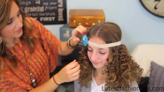 Cocoon Curls _ Easy No-Heat Curls _ Cute Girls Hairstyles_HD720 35