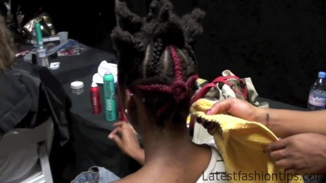 Come Backstage with Me and SexyHair at Indashio Spring_Summer 2013!_HD720 09