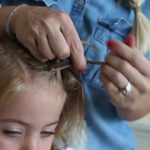 Criss Cross Braid _ Back to School Hairstyles _ Cute Girls Hairstyles_HD720 06