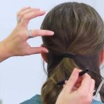 Criss Cross Ponytail Hairstyle _ Hairstyles for School_HD720 09