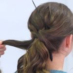 Criss Cross Ponytail Hairstyle _ Hairstyles for School_HD720 11