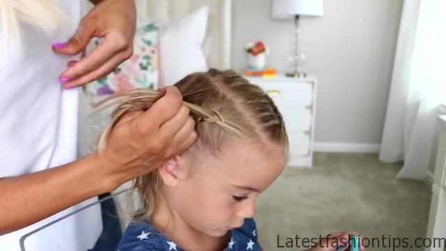 Crown Braid _ Toddler Hairstyle _ Cute Girls Hairstyles_HD720 08