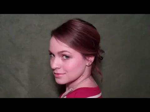 Cute Hair in 5 Minutes - Inspired by Juliet on Gossip Girl_360P 2