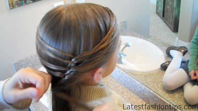 Cute Layered Ponytail _ Teen Hairstyles _ Cute Girls Hairstyles_HD720 13