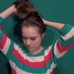 Cute Without Trying Bun - Back To School Updos 4_HD720 06