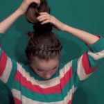 Cute Without Trying Bun - Back To School Updos 4_HD720 07