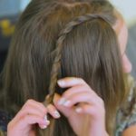 DIY Double Lace Twists _ Cute Girls Hairstyles_HD720 06