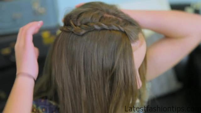 DIY Double Lace Twists _ Cute Girls Hairstyles_HD720 07