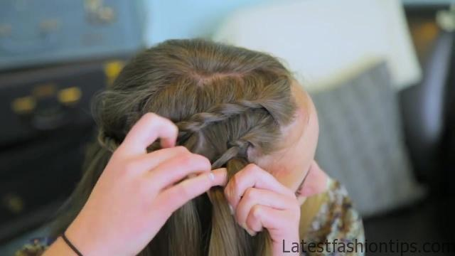 DIY Double Lace Twists _ Cute Girls Hairstyles_HD720 08