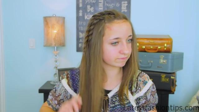 DIY Double Lace Twists _ Cute Girls Hairstyles_HD720 11