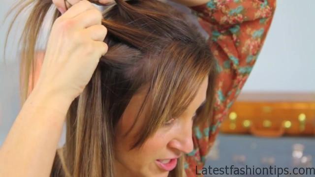 DIY Dutch Waterfall Braid _ Cute Girls Hairstyles_HD720 04