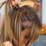 DIY Dutch Waterfall Braid _ Cute Girls Hairstyles_HD720 08
