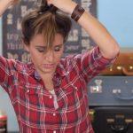 DIY French-Up High Bun _ Cute Hair Bun Ideas_HD720 10