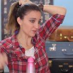 DIY French-Up High Bun _ Cute Hair Bun Ideas_HD720 12