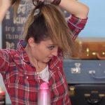 DIY French-Up High Bun _ Cute Hair Bun Ideas_HD720 13