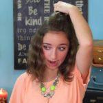 DIY Half-Up Bun _ Easy Hairstyles_HD720 05