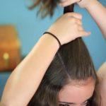 DIY Half-Up Bun _ Easy Hairstyles_HD720 06
