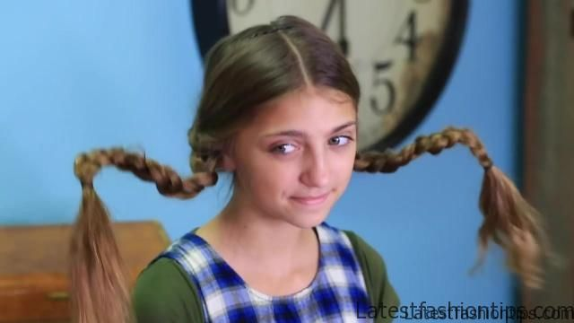 Dad Teaches How to Create Pippi Longstocking Braids_HD720 15