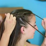 Diagonal French Loop Braid _ Braided Hairstyles_HD720 08