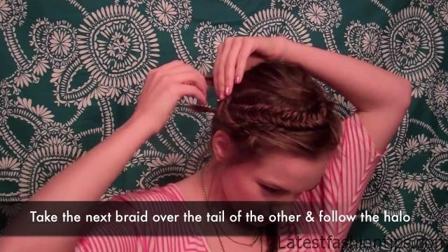 Diana Agron inspired Valentine's Updo_HD720 11