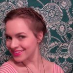 Diana Agron inspired Valentine's Updo_HD720 13