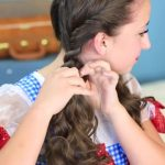Dorothy Braids _ The Wizard of OZ _ Halloween Hairstyles_HD720 10