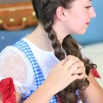 Dorothy Braids _ The Wizard of OZ _ Halloween Hairstyles_HD720 11