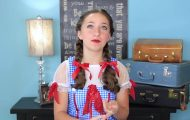 Dorothy Braids _ The Wizard of OZ _ Halloween Hairstyles_HD720 16