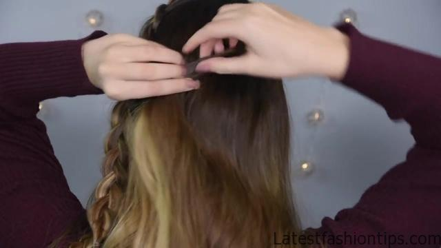 Double Dutch Half Up _ Cute Girls Hairstyles_HD720 8